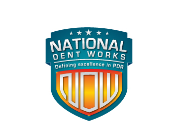 National Dent Works logo design