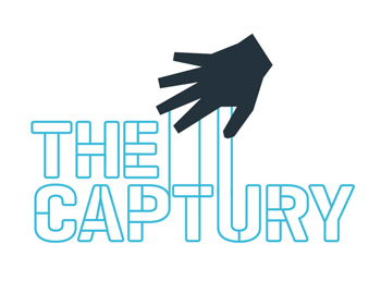 The Captury logo design