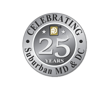 Paul Davis Restoration and Remodeling of Suburban MD & Washington, DC logo design
