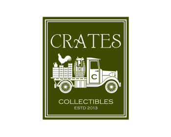 Crates logo design