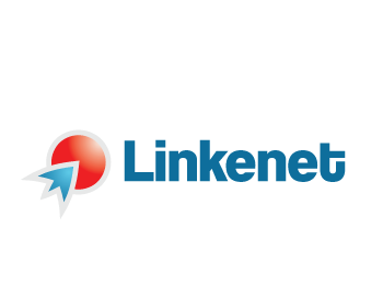 Linkenet logo design