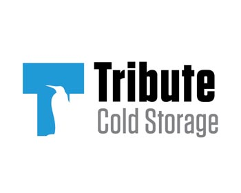 Tribute Cold Storage logo design