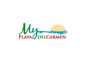 My Playa Del Carmen (PDC) logo design