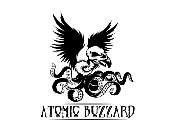 Atomic Buzzard logo design