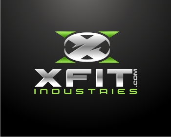 XFit Industries logo design
