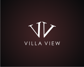 VillaView logo design