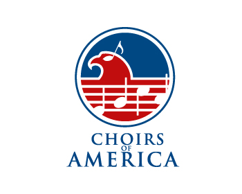 Choirs of America logo design