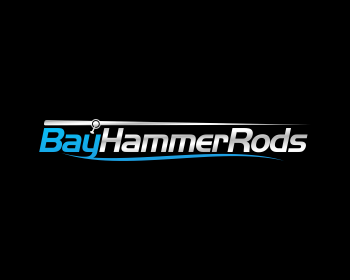 Bay Hammer Rods logo design