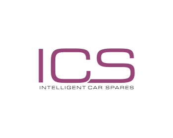 ICS (Intelligent Car Spares) logo design