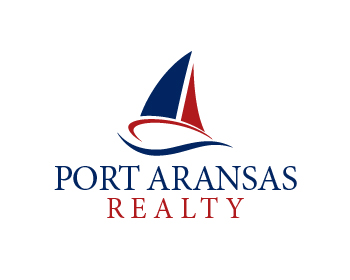 Port Aransas Realty Inc logo design