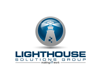 Lighthouse Solutions Group logo design