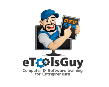 eTools Guy logo design
