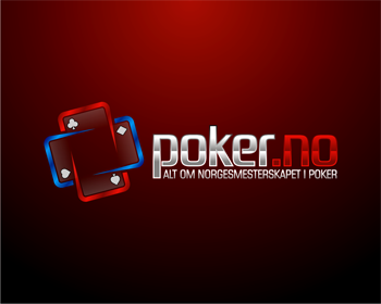 Poker.no logo design