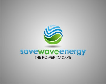 Save Wave Energy logo design