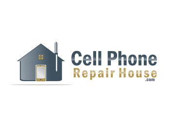 Cell Phone Repair House logo design
