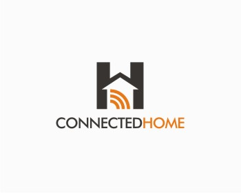 Connected Home logo design