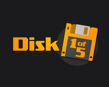 Logo design for Disk1of5