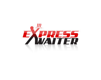 Express Waiter logo design