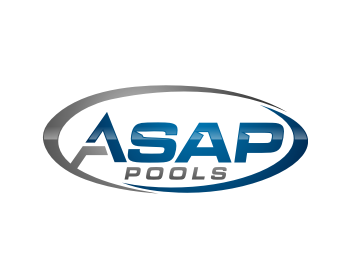 A.S.A.P. Pools logo design