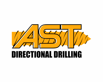 AST Directional Drilling logo design