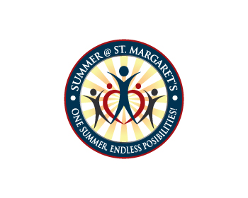 Summer @ St. Margaret's logo design