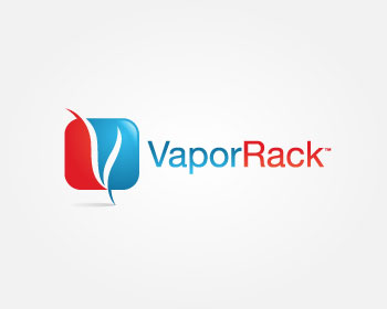 VaporRack logo design