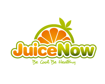 Restaurant logo design for Juice Now