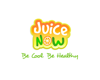 Logo design for Juice Now