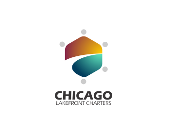 Chicago Lakefront Charters logo design