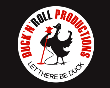 Duck`n`Roll Productions logo design