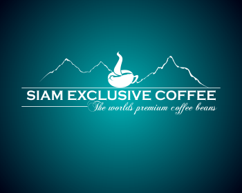 Siam Exclusive Coffee logo design