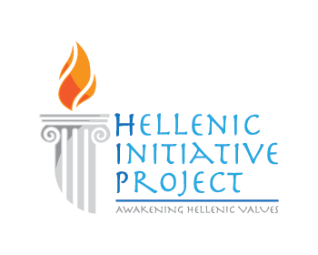 Hellenic Initiative Project logo design