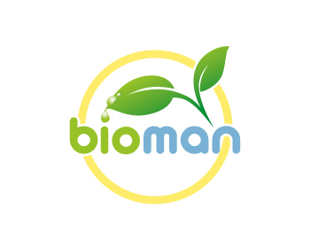 Bioman logo design