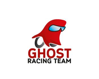 Ghost Racing Team logo design