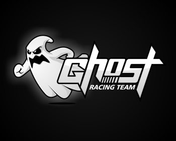 Logo design entry number 44 by masjacky | Ghost Racing Team logo ...