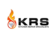 Elegant ... Kitchen Repair Specialists Logo Design ...
