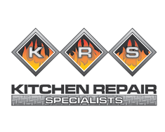logo design entry number 21 by creativeghost kitchen repair specialists logo contest