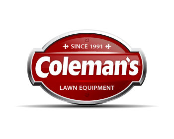Coleman's Lawn Equipment logo design
