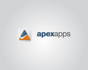Apex Apps logo design
