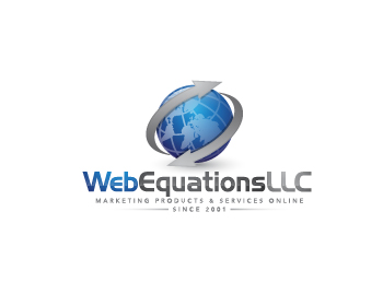 Web Equations LLC logo design