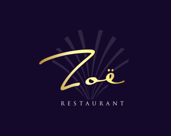 Logo design for Restaurant Zoë