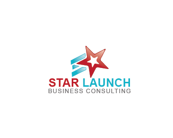 StarLaunch or Star Launch logo design