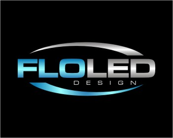 FLO LED Design logo design