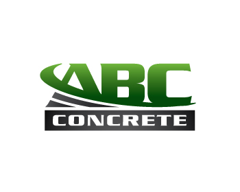 ABC Concrete logo design