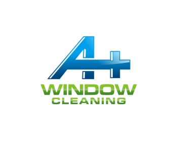 A Plus Window Cleaning, Inc logo design
