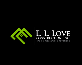 E. L. Love Construction, Inc. logo design