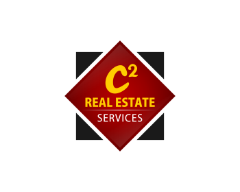 C2 (squared) Real Estate Services logo design