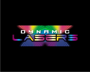 Dynamic Lasers logo design