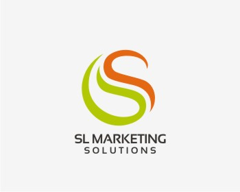 SL MARKETING SOLUTIONS LLC logo design