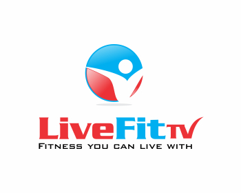 LiveFitTV logo design